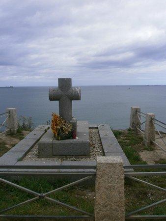 Bretagne, Frankreich: La tombe de CHATEAUBRIAND