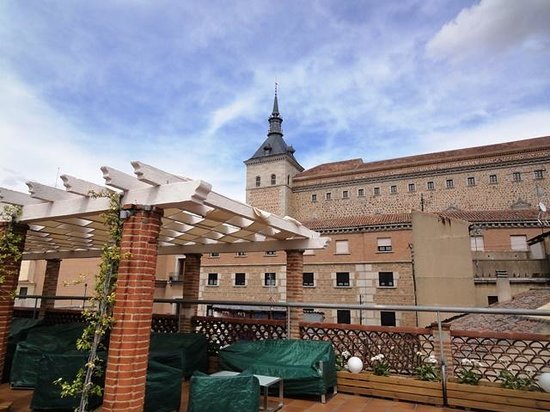 Carlos V Hotel: Roof top terrace