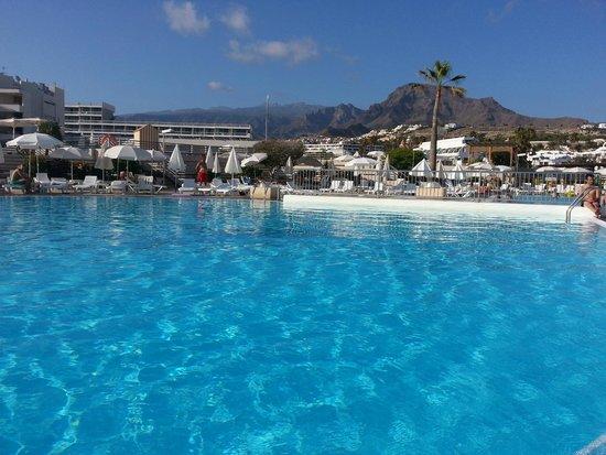 Hotel Gala : Une des piscine de l'Hôtel