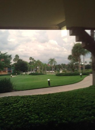 Disney's Coronado Springs Resort: View from our room