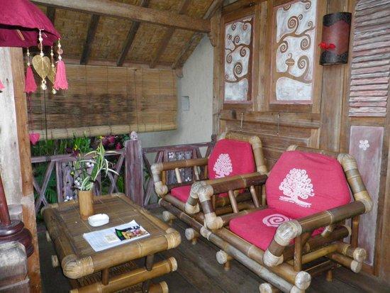 Swasti Eco Cottages : sdb bungalow