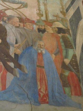 Church of San Francesco Arezzo: Legend of the True Cross by P. Della Francesca