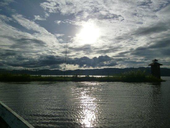 Inle Lake: ホテルから