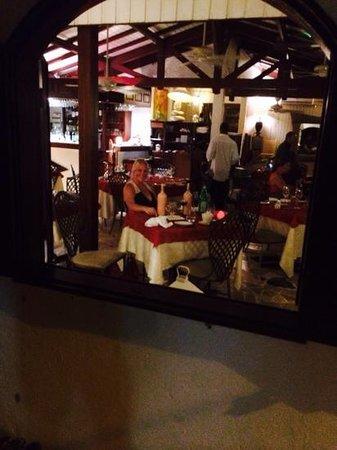 La Villa Restaurant : la villa