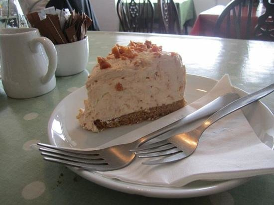 Coffee Bothy: orkney fudge cheesecake is worth its own photo!