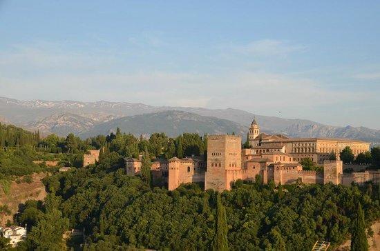 Mirador de San Nicolas: вид на альгамбру