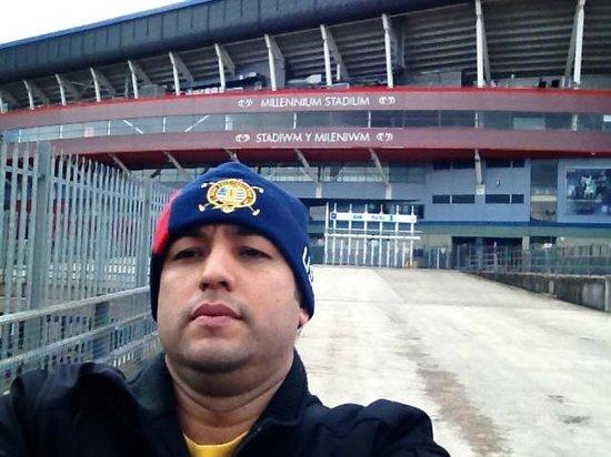 Principality Stadium: Ingreso