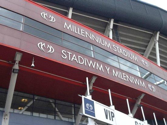 Principality Stadium: Postal