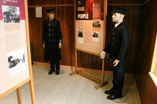 """The Trolleybus Museum at Sandtoft: Our new exhibition """"The Trolleybus during the First World War""""."""