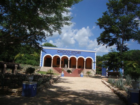 Hotel Hacienda Uxmal Plantation & Museum : Chocolate museum