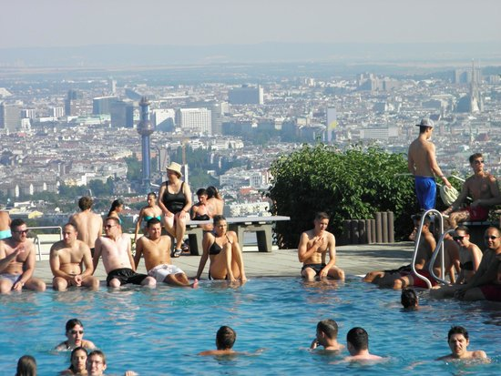 Kahlenberg: the swimming pool