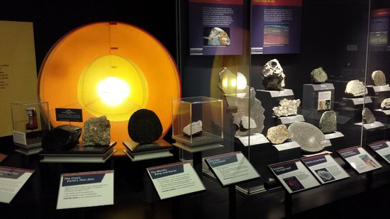 Museo Nacional Smithsonian de Historia Natural: Geology and Plate Tectonics area