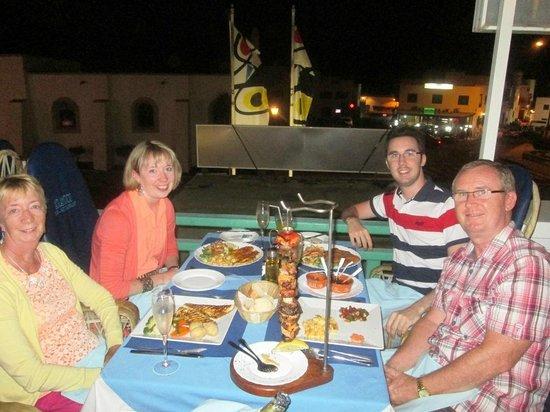 Atlantico Bar Restaurant: First night at l'Atlantico