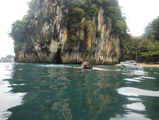 Phuket Sail Tours: a tad of snorkelling