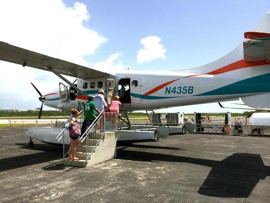 Key West Seaplane Adventures: Boarding the seaplane
