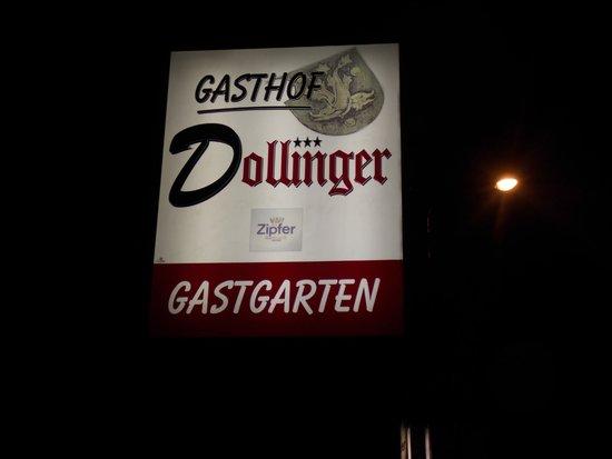 Dollinger Gasthof: vista