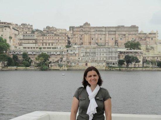 Taj Lake Palace Udaipur: vu depuis l'hotel