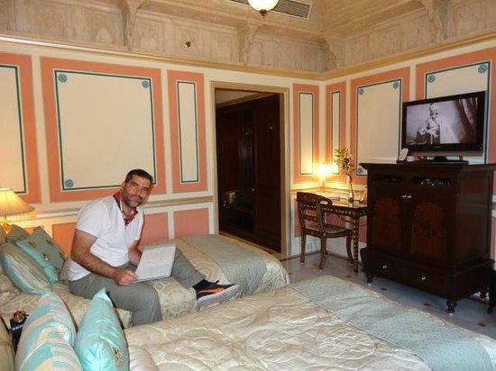 تاج ليك بالاس: la chambre avec vue sur la ville