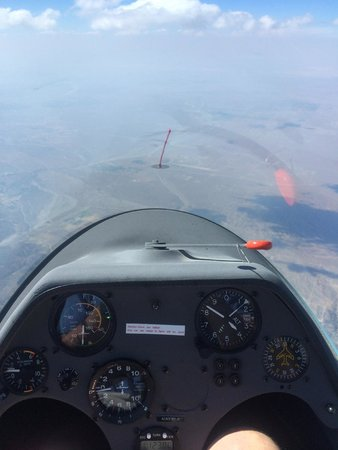 Southern California Soaring Academy: One thermal off tow