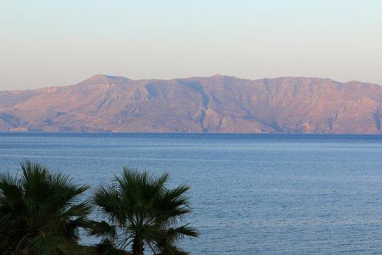 Balos Beach : La vue de l'hotel