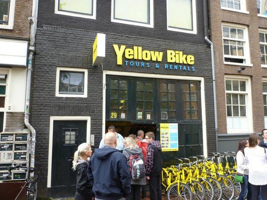 Yellow Bike Tours & Rental : The shop front for Yellow Bike