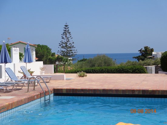 Sirius Apartments: the pool