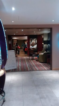Premier Inn London Blackfriars (Fleet Street) Hotel : Reception area