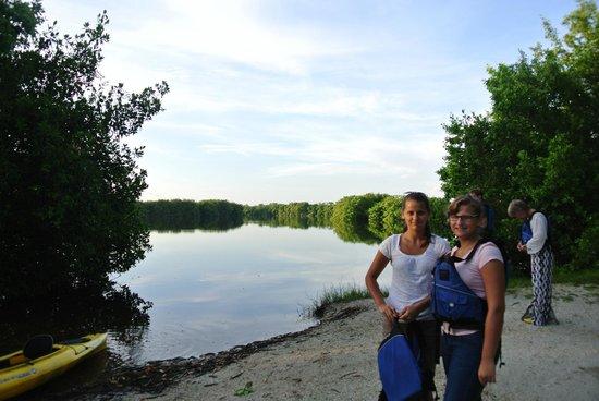 Everglades Rentals & Eco Adventures: Everglades / Abfahrt Kajaks