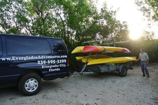 Everglades Rentals & Eco Adventures: Kajaks