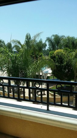 MarBrisa Carlsbad Resort: Morning view from the patio