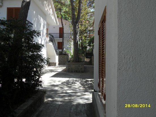 Hotel Paradiso Residence: vista dall'appartamento n°9