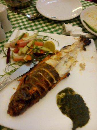 Mayur : Tantoori trout fish