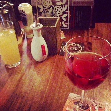 The Village Inn: After dinner drinks.