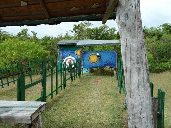 Paradisus Rio de Oro Resort & Spa: Archery + Riffle-Shooting Area