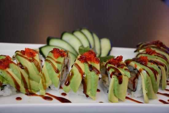 Restaurant Sakura Sushi & House : dragon roll