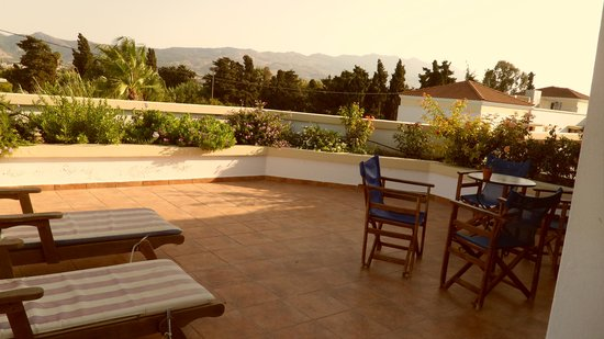 Aegean Houses: Our spacious balcony