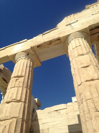 Private Greece Tours: Columns