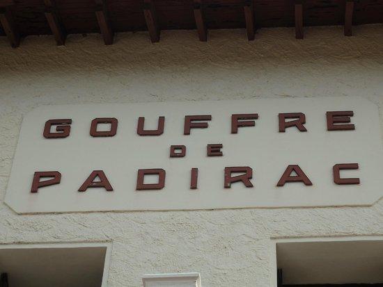 Gouffre de Padirac : bâtiment d'entrée