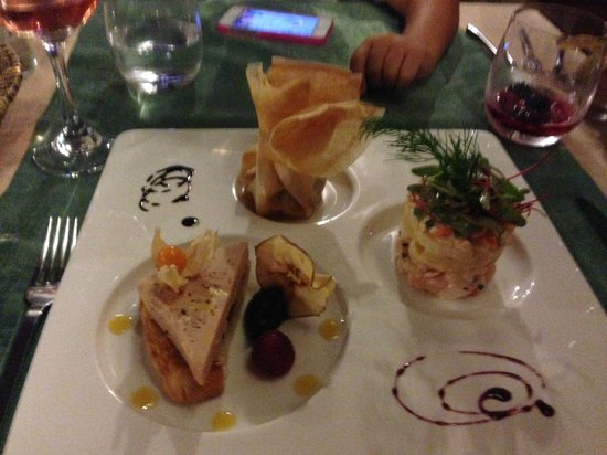 Casa do Pintor - Gourmet & Bistro: For those that cannot decide, an exquisite selection in a plate