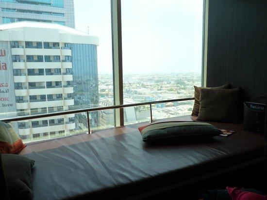 Towers Rotana - Dubai: Super espreguiçadeira