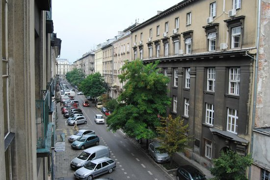 4Seasons Apartments Cracow : Vistas desde la habitación