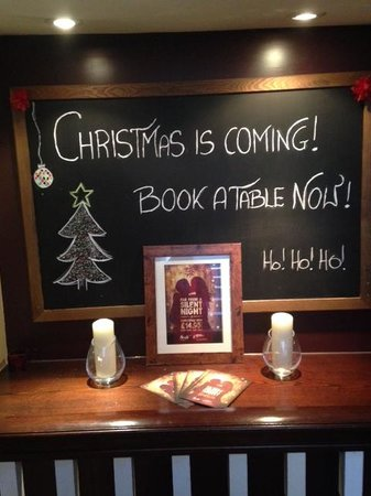 La Tasca Bath: book now for christmas