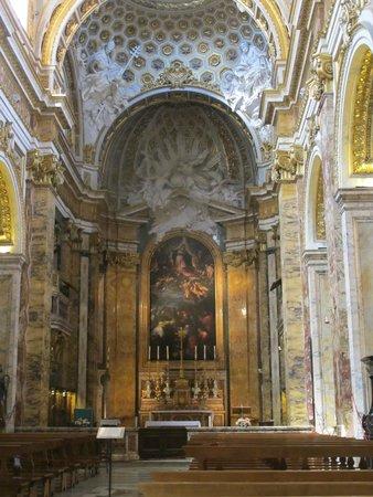 Iglesia de San Luis de los Franceses: Interior of San Luigi dei Francesi