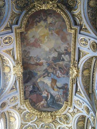 Iglesia de San Luis de los Franceses: San Luigi dei Francesi ceiling