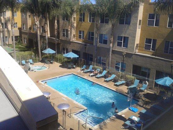 Residence Inn San Diego Carlsbad : Pileta desde la habitacion