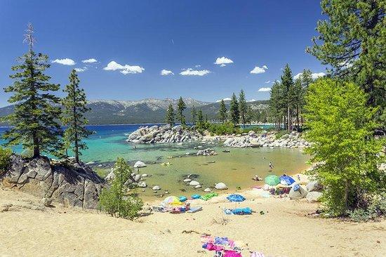 Sand Harbor Lake Tahoe Bild Von Incline Village
