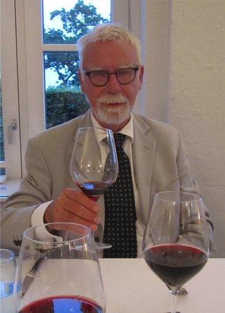 Hotel Fakkelgaarden : ved bordet til middagen på Fakkelgården