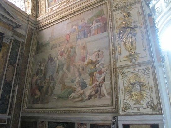 Iglesia de San Luis de los Franceses: St. Cecilia chapel