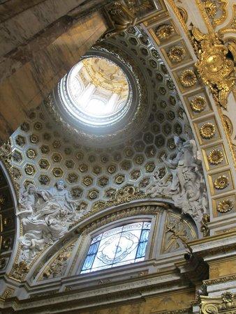 Iglesia de San Luis de los Franceses: San Luigi dei Francesi dome