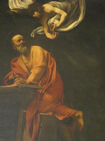 Iglesia de San Luis de los Franceses: Caravaggio's St. Matthew and the Angel